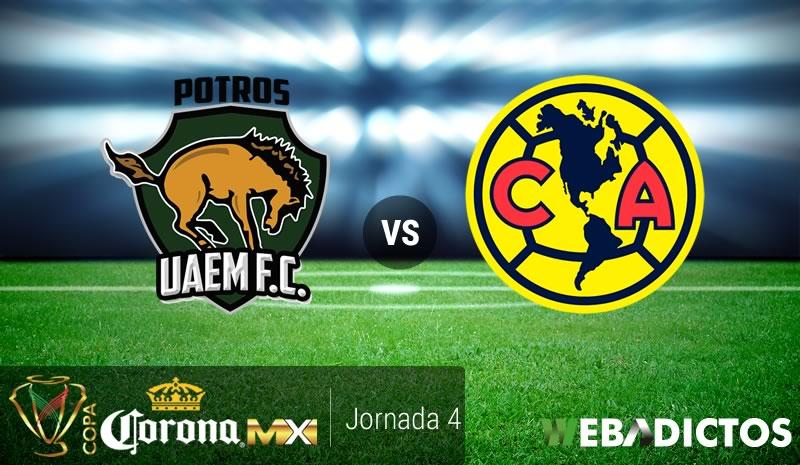 Potros UAEM vs América, Copa MX Apertura 2017 | Resultado: 2-3 - potros-uaem-vs-america-copa-mx-apertura-2017