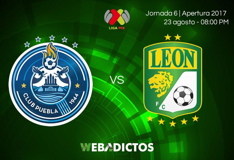Puebla vs León, Jornada 6 del Apertura 2017 | Resultado: 0-1 - puebla-vs-leon-jornada-6-apertura-2017