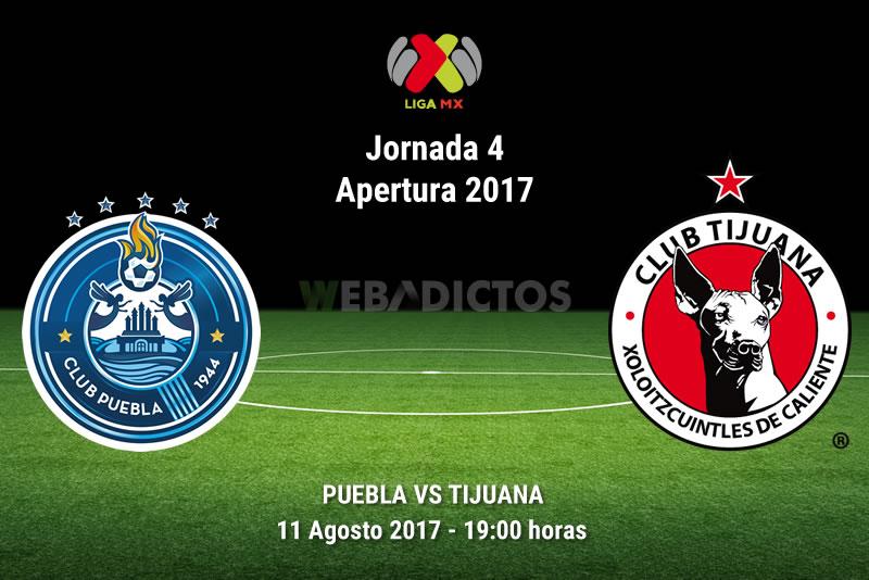 Puebla vs Tijuana, Jornada 4 Liga MX A2017 | Resultado: 1-1 - puebla-vs-tijuana-j4-apertura-2017