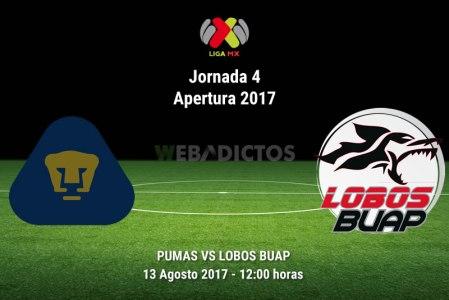 Pumas vs Lobos BUAP, J4 de la Liga MX A2017 | Resultado: 2-0