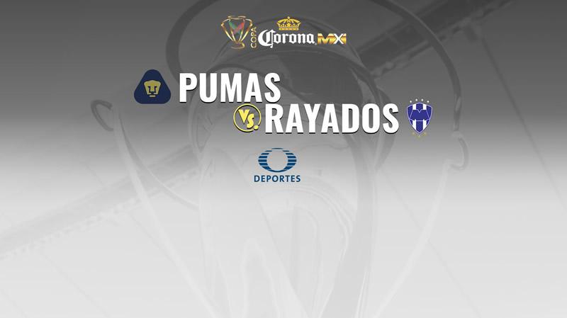 Pumas vs Monterrey, Copa MX Apertura 2017 | Resultado: 1-1 - pumas-vs-monterrey-en-vivo-copa-mx-apertura-2017