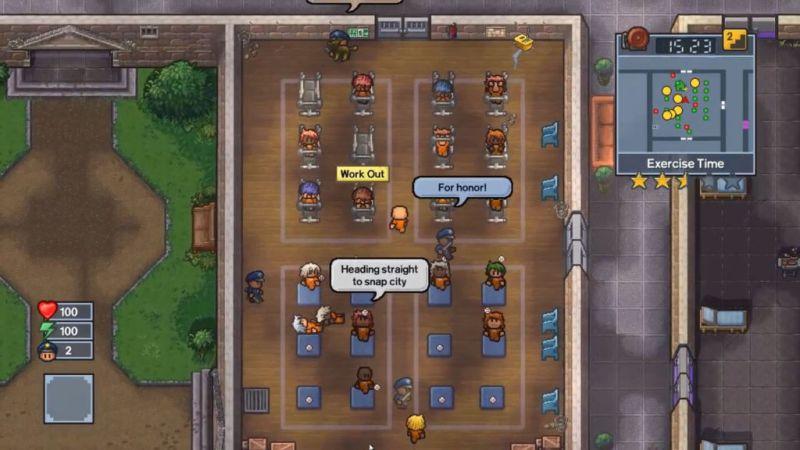 the escapists 2 juegos 2 800x450 The Escapists 2, juego de estrategía te lleva a la prisión espacial