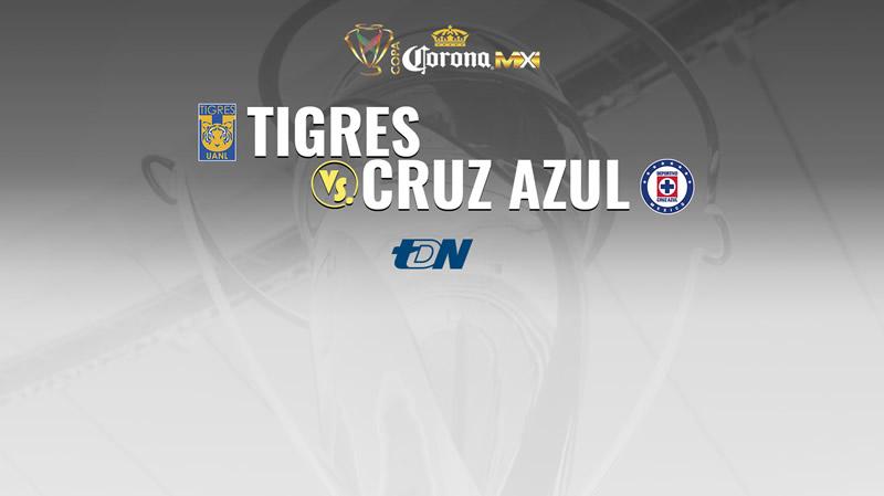 Tigres vs Cruz Azul, Jornada 2 de Copa MX A2017 | Resultado: 1-1 - tigres-vs-cruz-azul-en-vivo-copa-mx-apertura-2017-j2