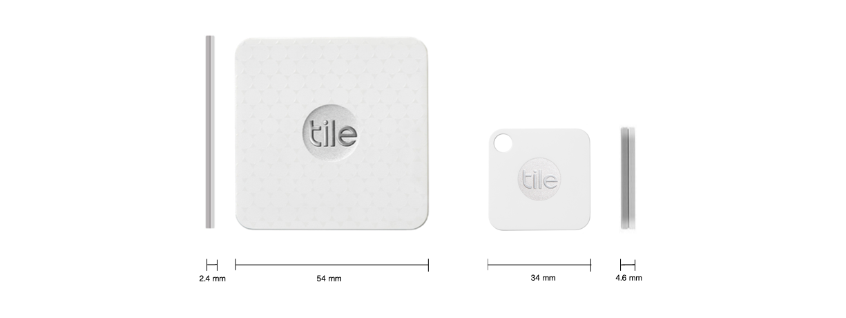 Tile: Rastreador Bluetooth de objetos [Reseña] - tiles-rastreador-de-objetos-medidas