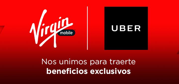 virgin mobile uber Virgin Mobile México incluye Uber en sus planes de prepago