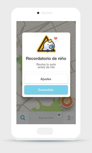 5 razones para usar Waze en el regreso a clases ¡Será tu app preferida! - waze-recordatorio-de-nino