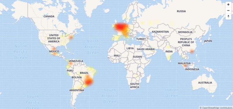 WhatsApp se cae en algunos países - whatsapp-caida-agosto-2017