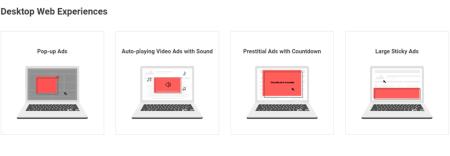 Google quiere combatir anuncios molestos en sitios web