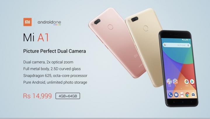 Xiaomi y Google presentan al Mi A1, el primer Android One de la firma china - a1-price