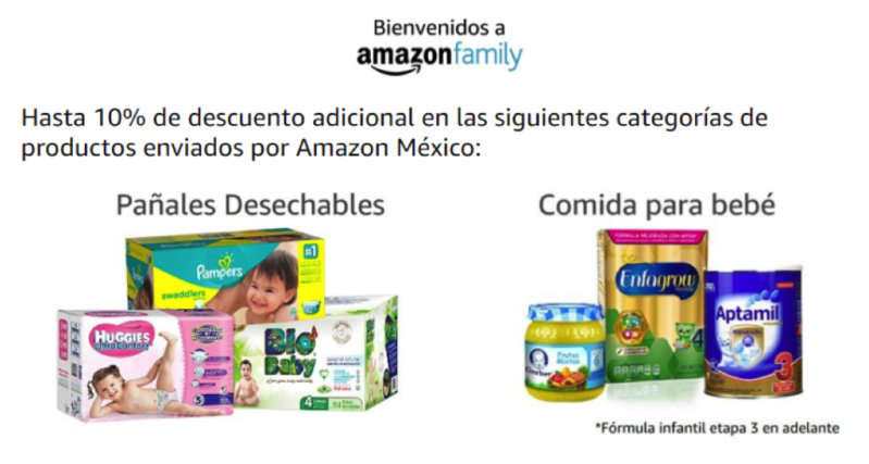 Amazon Family ya disponible en México - amazon-family-800x427