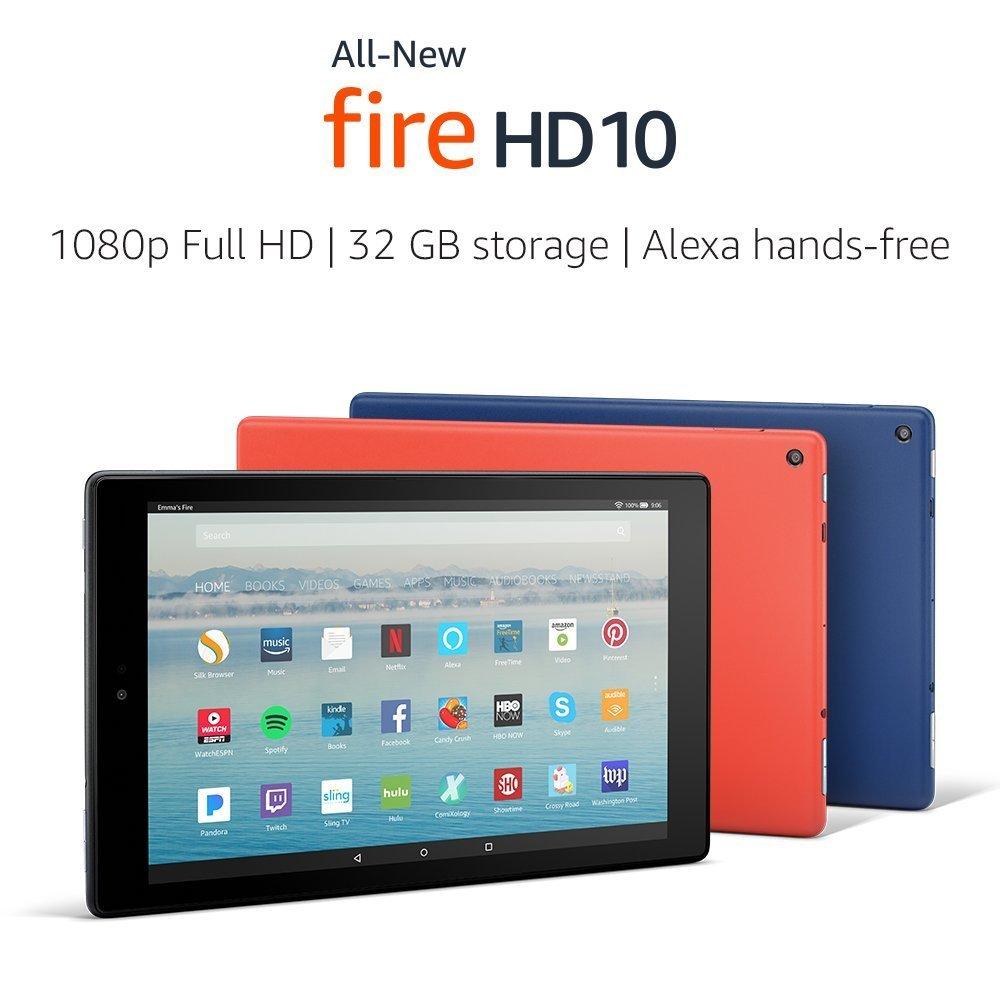 La nueva Kindle Fire HD de 10 pulgadas tiene pantalla FullHD y solo cuesta 150 dólares - amazon-kindle-fire-hd-10-2017