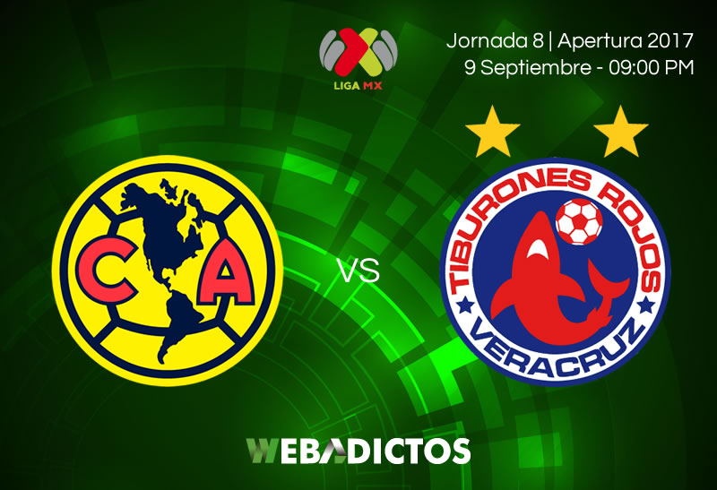 América vs Veracruz, Jornada 8 Liga MX A2017 | Resultado: 2-0 - america-vs-veracruz-j8-apertura-2017