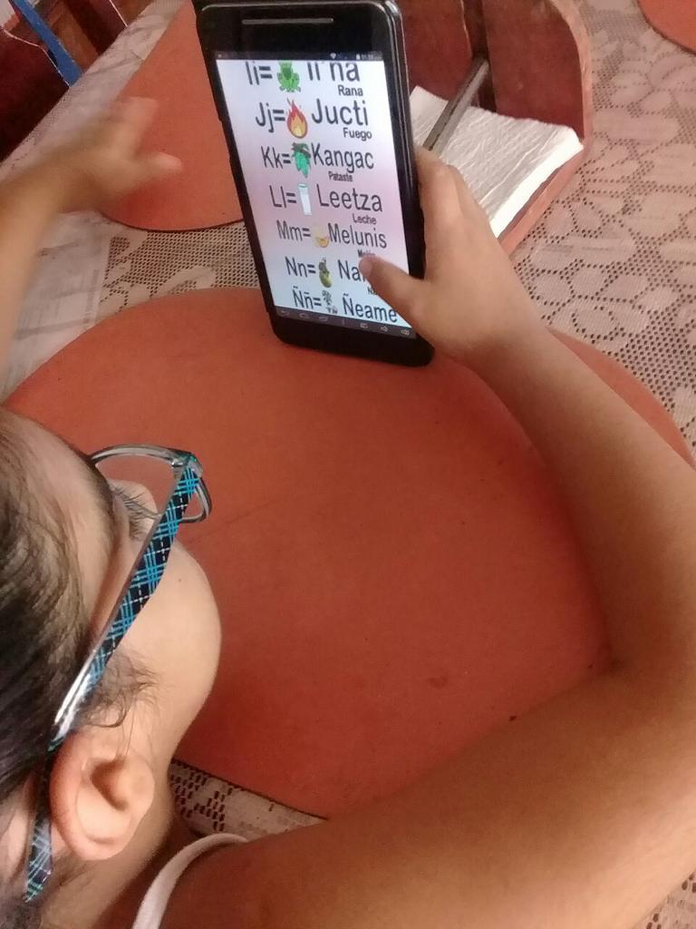 Desarrollan app para conservación de lengua mexicana casi muerta - app-lengua-mexicana