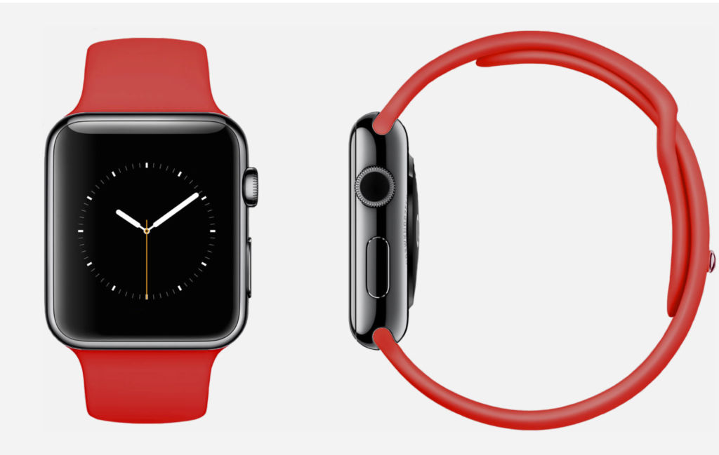 Los Medias Rojas de Boston usaron varios Apple Watch para robar señas a sus oponentes - apple-watch-red