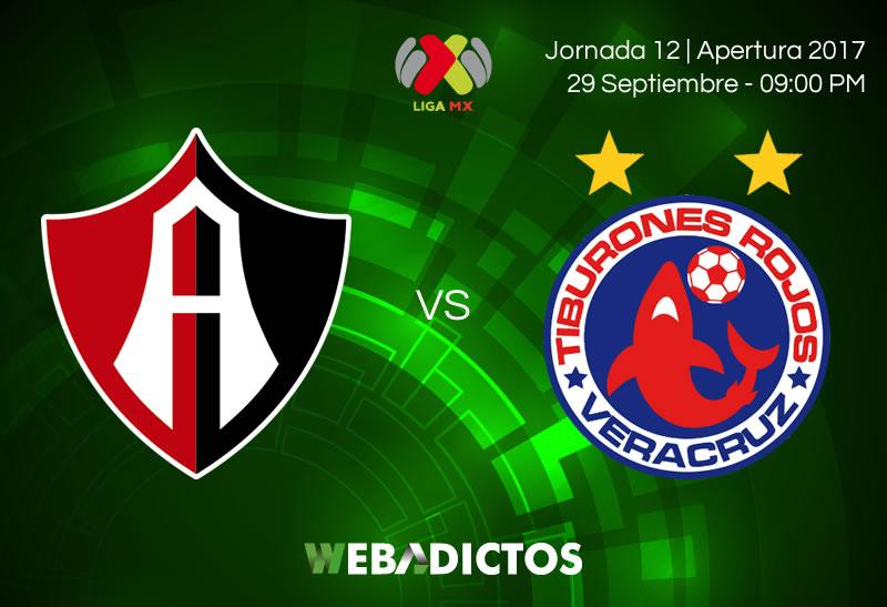 Atlas vs Veracruz, J12 de Liga MX Apertura 2017 | Resultado: 2-0 - atlas-vs-veracruz-j12-apertura-2017