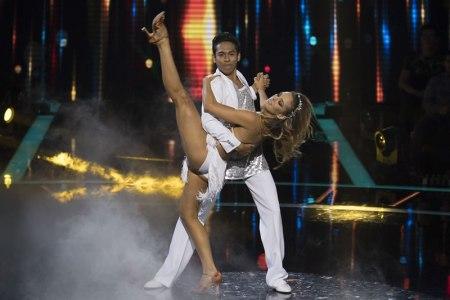 Bailando por un sueño 2017: Así fue la primera gala - bailando-por-un-sueno-2017-7-begoncc83a-narvaez-y-daniel-zapata
