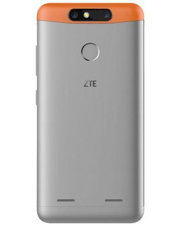ZTE presenta el nuevo Blade V8 mini en México - blade-v8-mini-plata-naranja-back