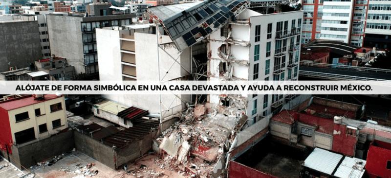 """Arriba México"" propone hospedarse virtualmente en casas devastadas por los sismos en México - cadena-arriba-mexico-800x366"