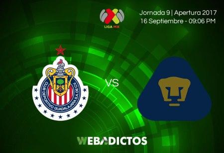 Chivas vs Pumas, Liga MX Apertura 2017 | Resultado: 1-1
