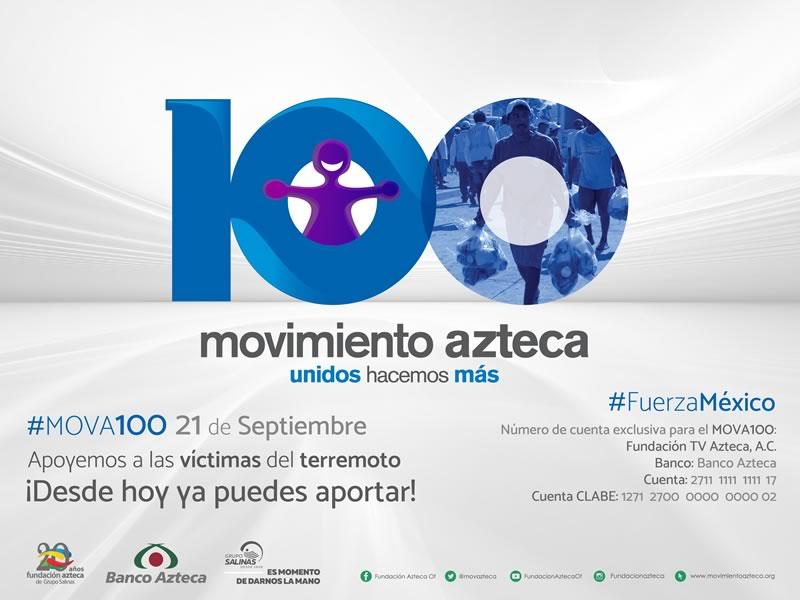 Cómo ayudar a México por el sismo, desde cualquier parte del mundo - como-ayudar-a-mexico-movimiento-azteca