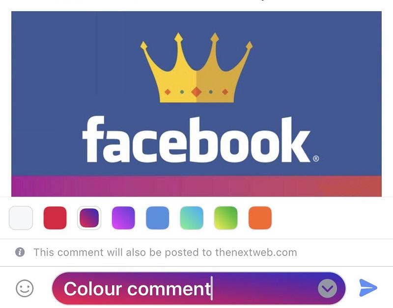 Facebook pone a prueba los comentarios con fondos coloridos - djb5pgowaaamxkq-800x628