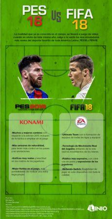 FIFA18 vs PES18