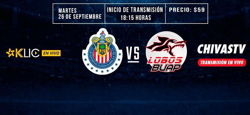 Chivas vs Lobos BUAP, Jornada 11 A2017 | Resultado: 1-2 - guadalajara-vs-lobos-buap-chivas-tv-j11-apertura-2017
