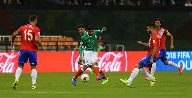 Horario México vs Costa Rica el 5 septiembre y canal; Hexagonal Final CONCACAF - hora-mexico-vs-costa-rica-5-septiembre-2017