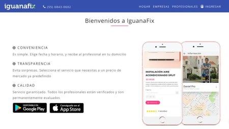 IguanaFix ofrece revisiones de electricidad, plomería o acabados en tu hogar sin costo