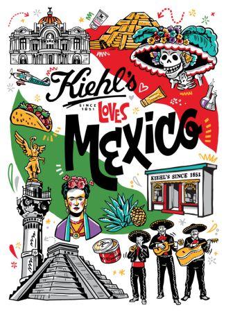 Kiehl's Loves México, emblemática campaña para celebrar el amor por México