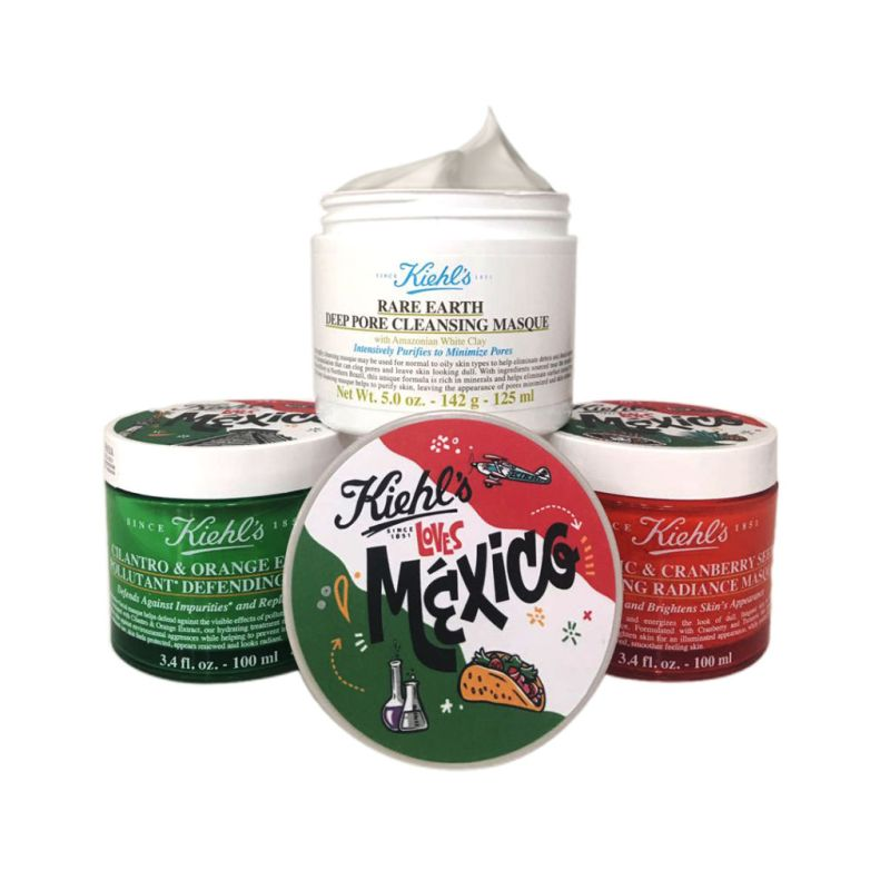 Kiehl's Loves México, emblemática campaña para celebrar el amor por México - klm_multimask_-800x800