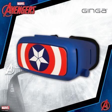 Marvel llega a Ginga con lentes de Realidad Virtual