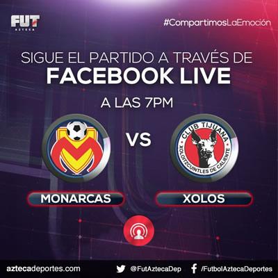 monarcas vs xolos facebook azteca deportes Morelia vs Tijuana, Jornada 12 del Apertura 2017 | Resultado: 3 0