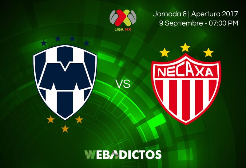 Monterrey vs Necaxa, Jornada 8 Apertura 2017   Resultado: 1-0 - monterrey-vs-necaxa-j8-apertura-2017