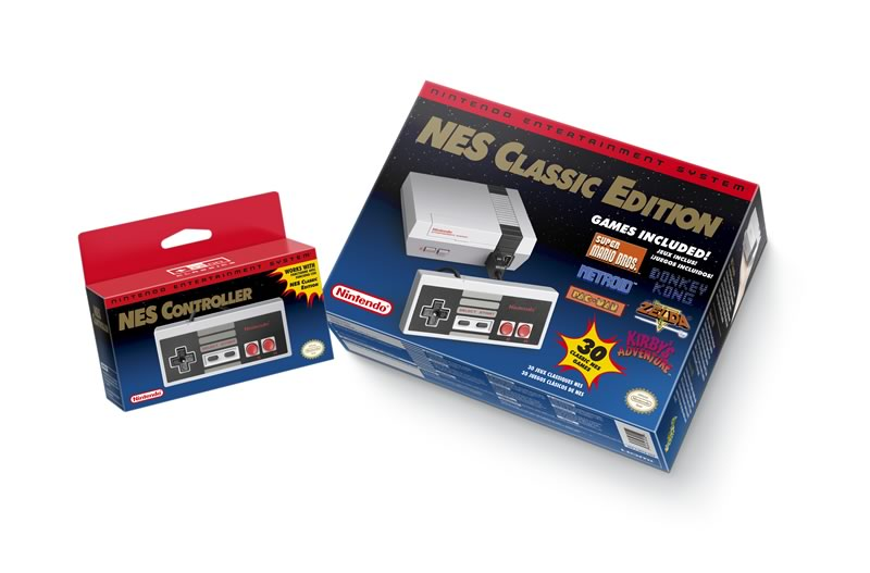 nes classic edition regresa 2018 NES Classic Edition volverá a venderse en 2018