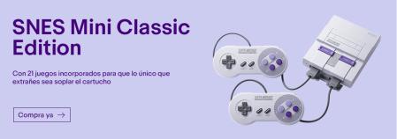 Nintendo Classic Mini SNES ¡ya disponible en eBay!