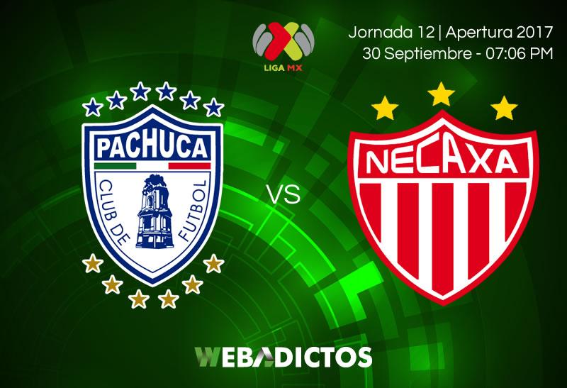 Pachuca y Necaxa aburren en partido sin goles en el Hidalgo