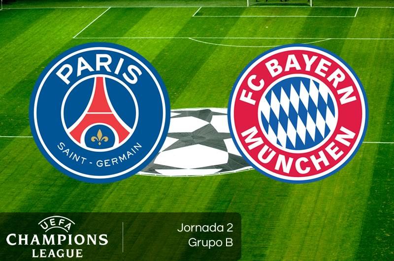 #Champions: El Bayern Munich contra el Paris Saint-Germain