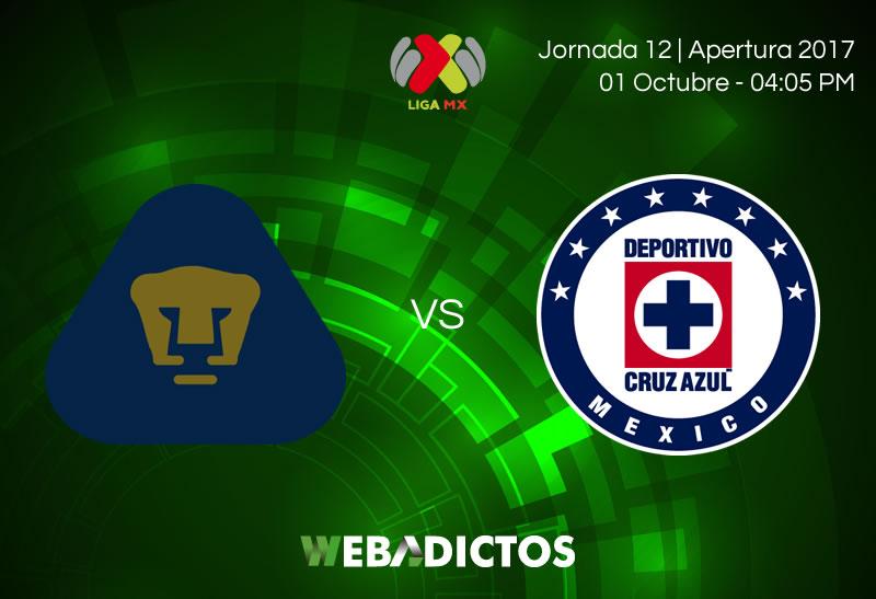 pumas vs cruz azul j12 apertura 2017 800x547 Pumas vs Cruz Azul, Jornada 12 del Apertura 2017 | Resultado: 1 4