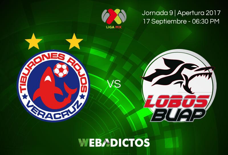 Veracruz vs Lobos BUAP, Jornada 9 Apertura 2017 | Resultado: 0-1 - veracruz-vs-lobos-buap-j9-apertura-2017