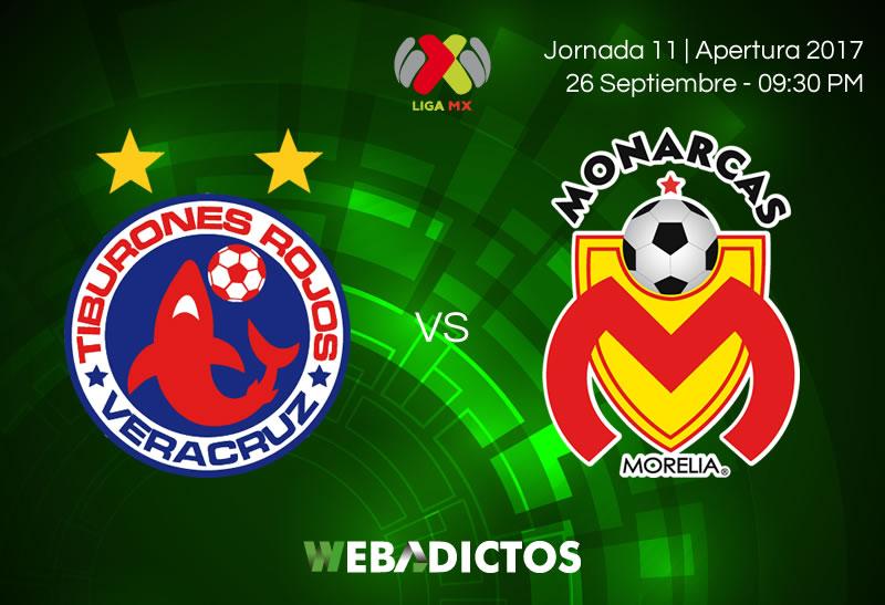 Veracruz vs Morelia, Jornada 11 Liga MX A2017 | Resultado: 2-1 - veracruz-vs-morelia-j11-apertura-2017
