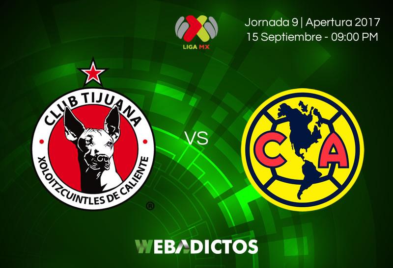 Xolos de Tijuana vs América, Liga MX Apertura 2017 | Resultado: 1-1 - xolos-tijuana-vs-america-j9-apertura-2017