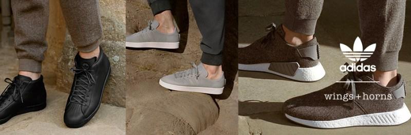 La segunda edición de la colaboración entre adidas Originals y wings+horns - adidas-y-wings-horns-800x264