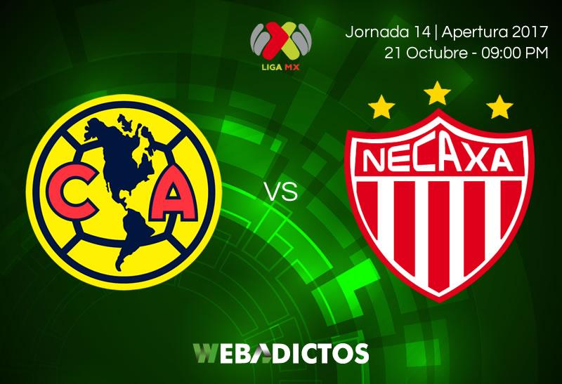 América vs Necaxa, Liga MX Apertura 2017 | Resultado: 0-1 - america-vs-necaxa-jornada-14-apertura-2017-800x547