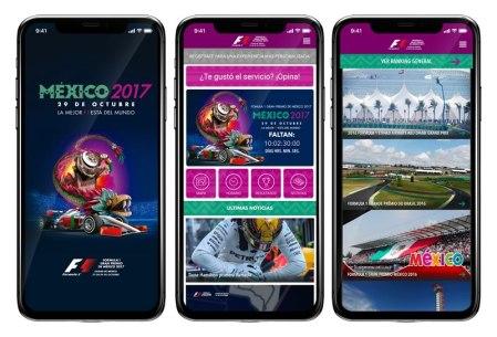 Descarga la app de la Formula 1 México 2017 y disfruta al máximo el evento
