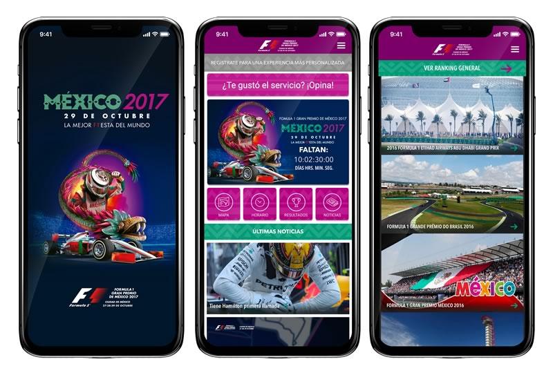 app formula 1 mexico 2017 800x543 Descarga la app de la Formula 1 México 2017 y disfruta al máximo el evento