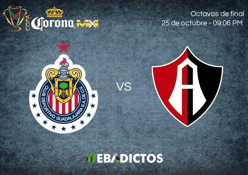Chivas vs Atlas, Octavos de Copa MX A2017   Resultado: 1-0 - chivas-vs-atlas-25-octubre-copa-mx-apertura-2017-800x566