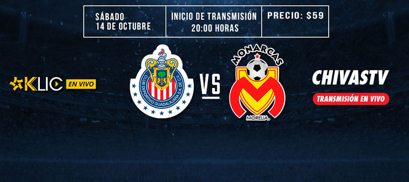 Chivas vs Morelia, Liga MX Apertura 2017 | Resultado: 1-2 - chivas-vs-morelia-chivas-tv-j13-apertura-2017-800x356