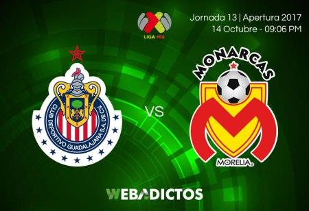Chivas vs Morelia, Liga MX Apertura 2017 | Resultado: 1-2