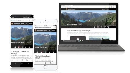 Microsoft Edge llega a smartphones Android y iOS en forma de beta